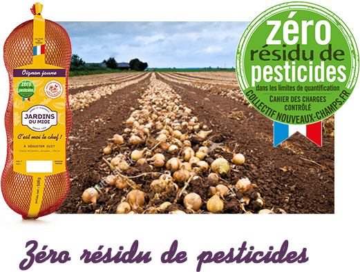 Zéro résidu de pesticides